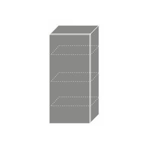 PLATINUM, skříňka horní W4 45, korpus: grey, barva: camel