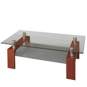 Konferenční stolek Reno 3005, ořech/mahagon