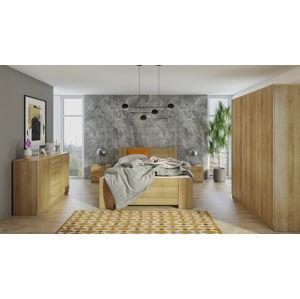 Ložnice BONO 3D, dub zlatý