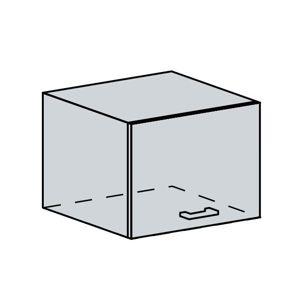VERONA, skříňka nad digestoř 50 VP, bílá/zlatý jasan