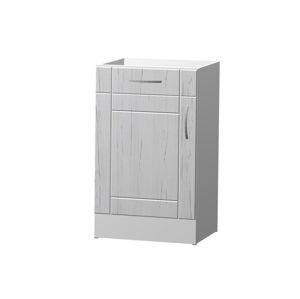 ADELA dolní skříňka S 50 DZ, korpus bílý/dvířka pino aurelio