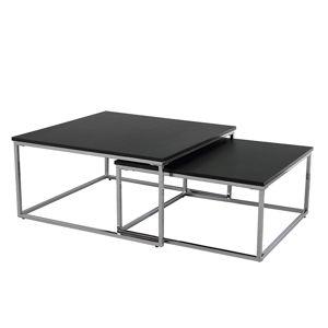 Konferenční stolek AMIAS, černá/chrom
