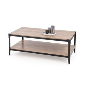 Konferenční stolek ARIZA, dub/černá