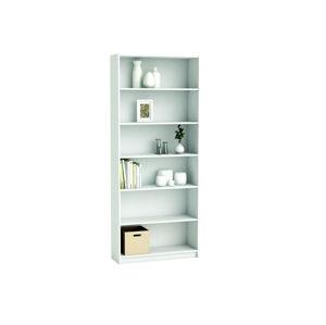 BLANCO, knihovna 80x190 cm, bílá, knihovna 80x190 cm, bílá