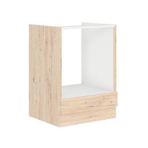 BORDEAUX, skříňka pro vestavnou troubu 60 D G BB, dub bordeaux/ dub bordeaux