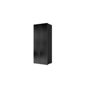 CALABRINI šatní skříň, černá