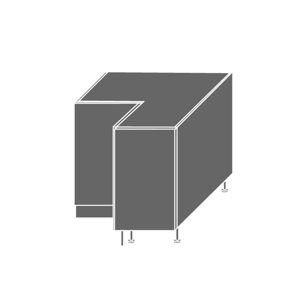 EMPORIUM, skříňka dolní rohová D12 90, korpus: jersey, barva: white