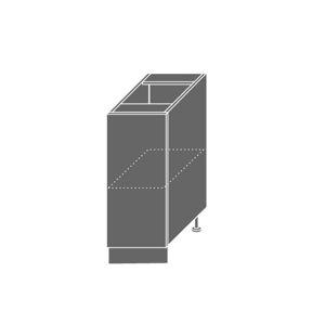 EMPORIUM, skříňka dolní D1D 30, korpus: jersey, barva: light grey stone