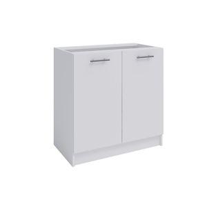 FABIANA, dolní skříňka, S-80, bílá