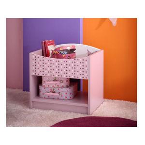FEE, noční stolek, fialková, noční stolek, fialková