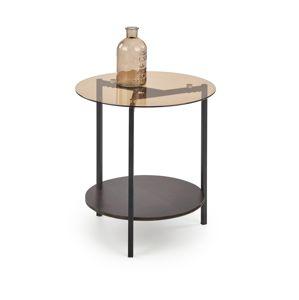 Konferenční stolek GIRONA, ořech/černá