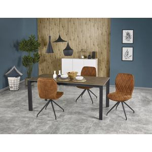 Jídelní stůl rozkládací HORIZON 120/180x85 cm, šedý