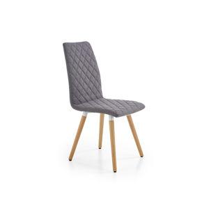 Jídelní židle K-282, šedá