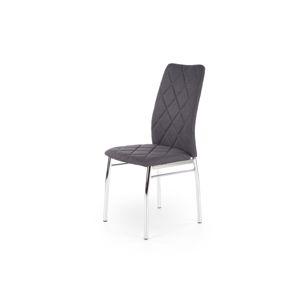 Jídelní židle K-309, tmavě šedá