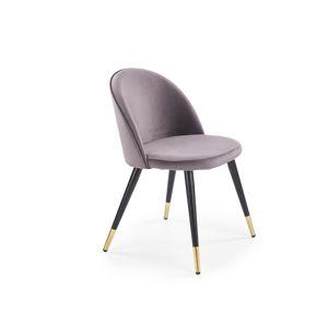 Jídelní židle K-315, tmavě šedá