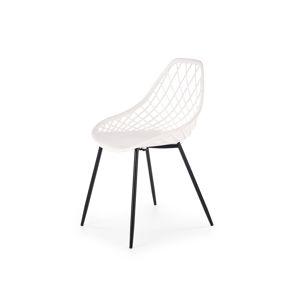 Jídelní židle K-330, bílá