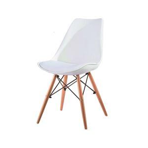 KEMAL jídelní židle, bílá