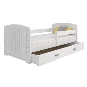Dětská postel MIKI B5 80x160, bílá + barva čela: …
