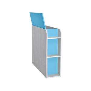 NUMERO BOX , dub bílý / modrá