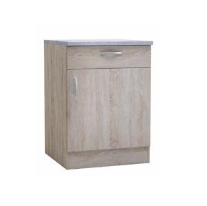 PAPRIKA, skříňka dolní 60 cm, dub sonoma
