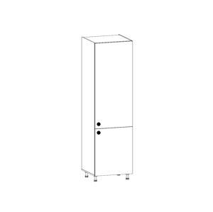PROVANS vysoká skříňka pro vestavnou lednici D60ZL pravá, borovice andersen