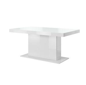 TULSA rozkládací jídelní stůl TYP 81, bílý lesk