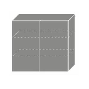 QUANTUM, skříňka horní W3 80, vanilla mat/jersey