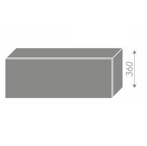 PLATINUM, skříňka horní W4b 90, korpus: grey, barva: white
