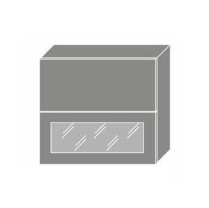 EMPORIUM, skříňka horní W8B 80 AV WKF, korpus: bílý, barva: white