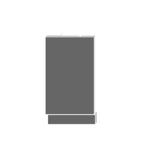 EMPORIUM, dvířka pro vestavby ZM-45, sokl grey, barva: grey stone