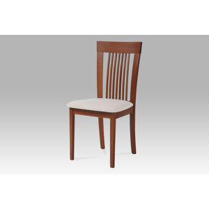 Jídelní židle BC-3940 TR3 se sedákem, třešeň