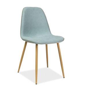 Jídelní židle DUAL, mentolová