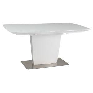 Jídelní stůl FELIPE bílý rozkládací