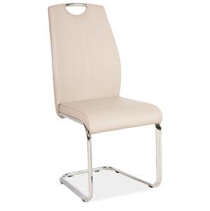 Jídelní čalouněná židle H-664, cappuccino