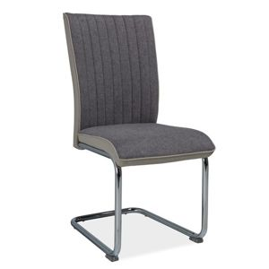 Jídelní čalouněná židle H-930, šedá/světle šedé boky