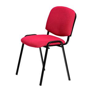 Konferenční židle VISI, červená