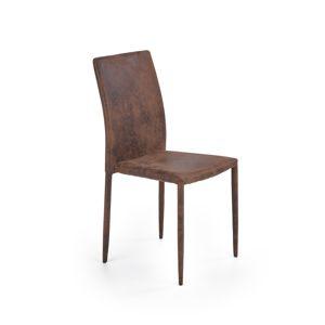 Jídelní židle K-375, tmavě hnědá