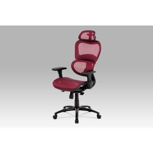 Kancelářská židle KA-A188 RED, červená