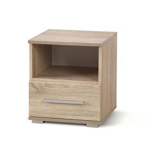 Noční stolek LIMA SN-1, dub sonoma