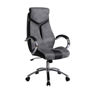 Kancelářské křeslo NIXON, šedá/černá