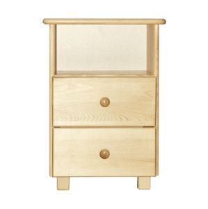 Noční stolek TINA S2, masiv borovice, moření: ...