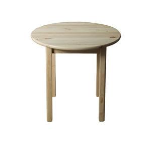 Stůl  průměr 120 cm nr.3, masiv borovice/moření: ...