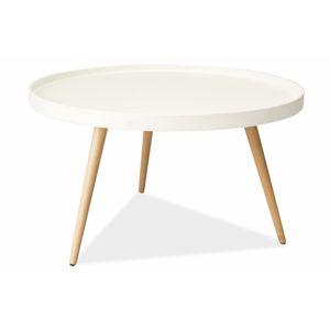 Konferenční stolek TONI B bílý